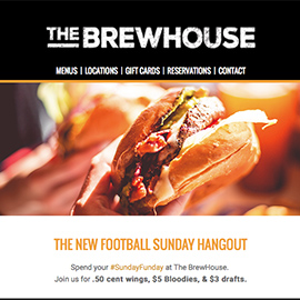 BrewHouse Demo Email Campaign